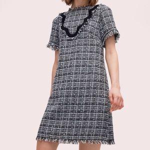 NWT Scallop Tweed Dress